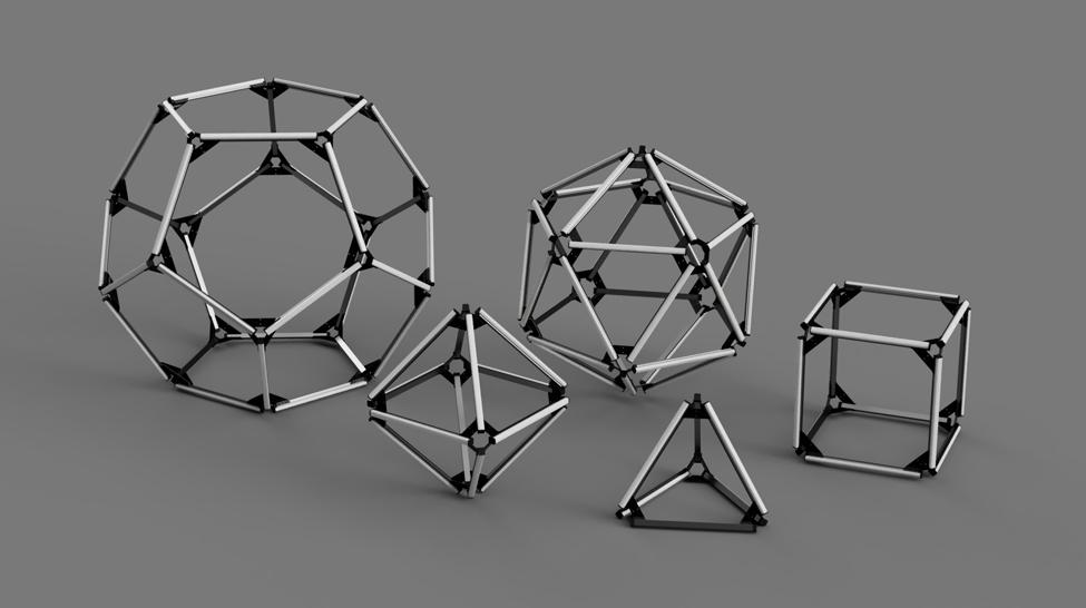 5 Patonic solids